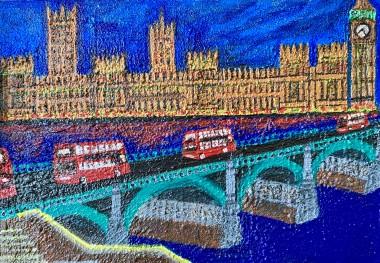 Big Ben, Buses and Bridge