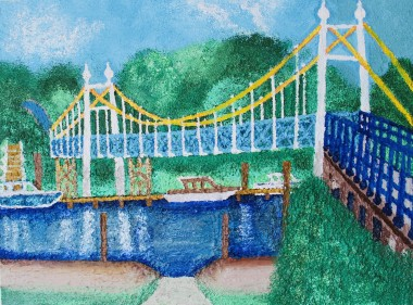 Teddington Lock Bridge