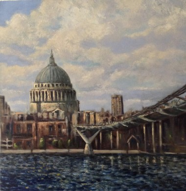From Tate modern oil painting by David Mather