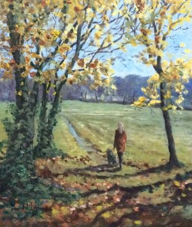 A walk in Tavistock park