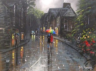 Downpour In Grasmere