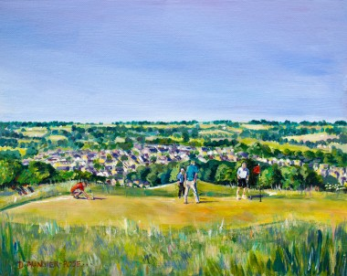 HOLE 3 - OLD LODGE painting for sale