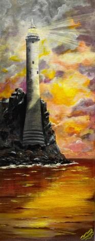 Fastnet Lighthouse at Sunset