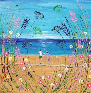 Wild Flowers and Romance by the Sea