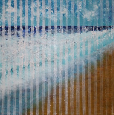 Sea View behind white lines
