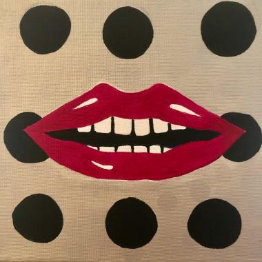 Dotty Pink Lips