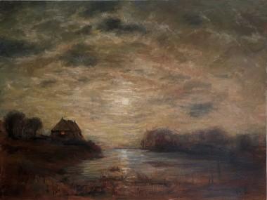 Home: Moonlit Sky