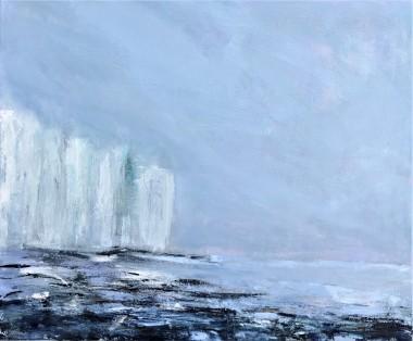 White cliffs mist