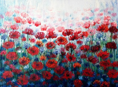 Poppies and Cornflower Fields (reserved)