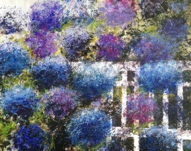 Hydrangea Flowers in the Morning 1