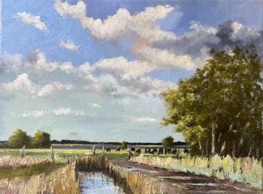 Cattle on the Marsh