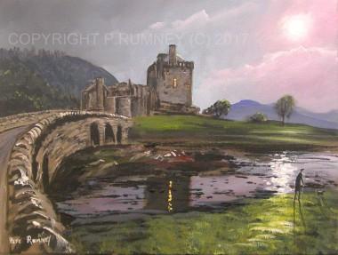 Light Over Eilean Donan Castle