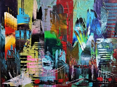 London Bridge Abstract 708
