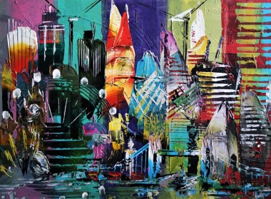 London Fab Abstract 695