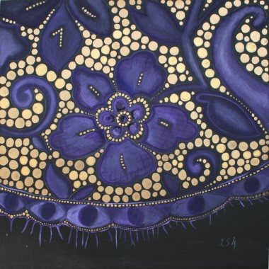 Losing Lace,levers Purple