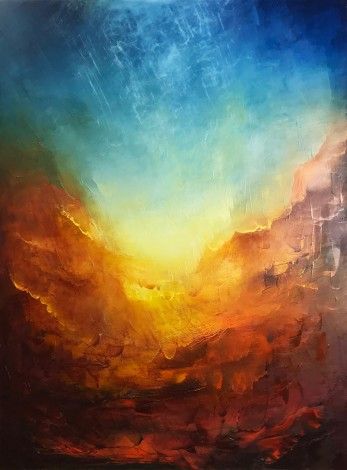 Lumina | Oil on canvas | 76 x 101 cm | 2020
