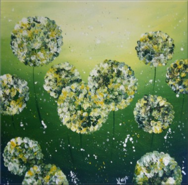 Magical Alliums (green)
