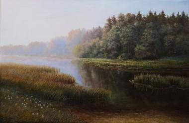 Landscape Morning on the River