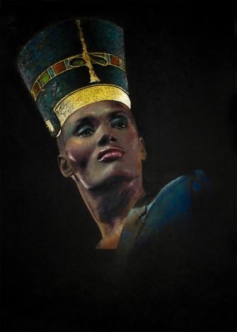 Nefertiti original painting