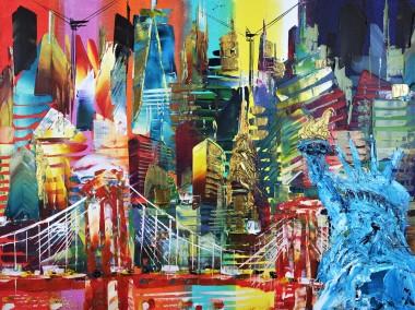 New York City Brooklyn Bridge 877