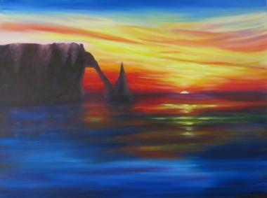 Sunset by Maureen Greenwood