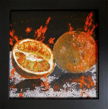 Orange Starwars Framed