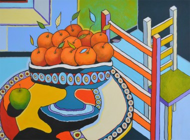 Still Life with Oranges and Chairs