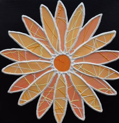 Flower 12 Original Art By Simon Slater Artist