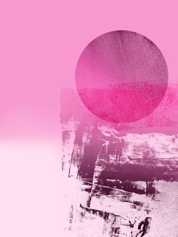 digital abstract print colour pink
