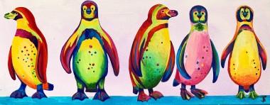 Rainbow Penguin Parade