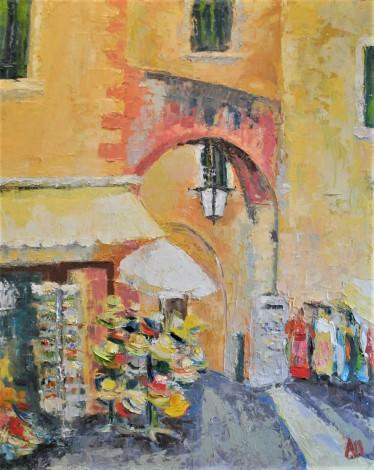 Market in Lazise