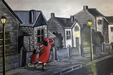 Rushing Down The Street