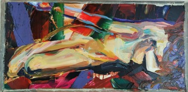 Covid Self Isolate Abstract figure Box 602