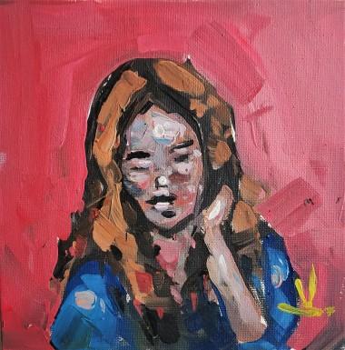 Shy Girl Portrait