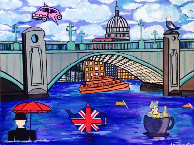 Tea On The Thames