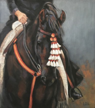 Spanish horse painting