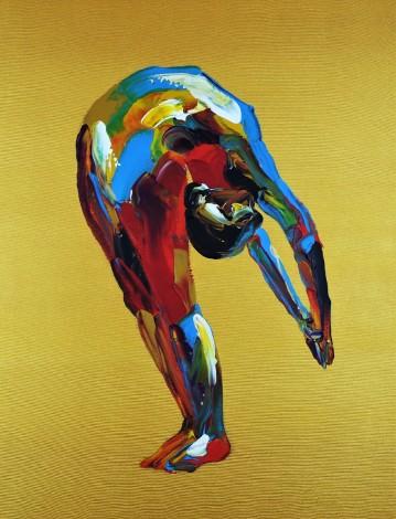 Standing Backbend Yoga Pose 894