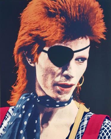 "David Bowie/Ziggy Stardust print ""Stardust"" by artist Robert McSpadyen"