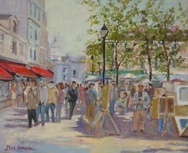 The Artists Square - Paris