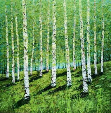 Through the Birches
