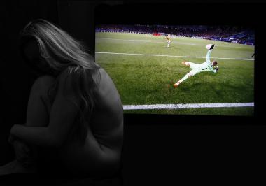 Abstract - Nude - Football