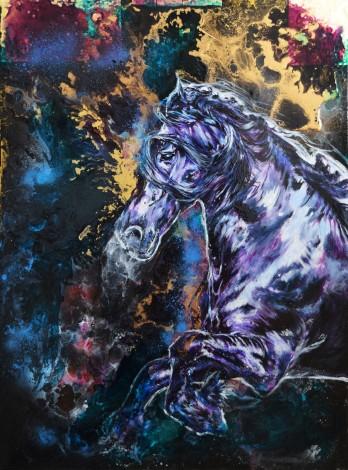 Libre & Fier / Fresian Original Horse