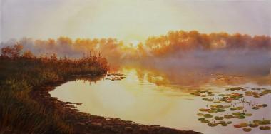 Landscape Warm Morning