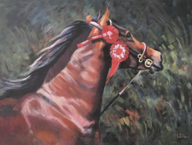 Welsh Show Horse Painting