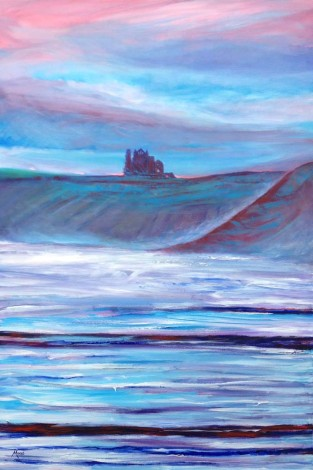 Whitby Abbey at Dawn