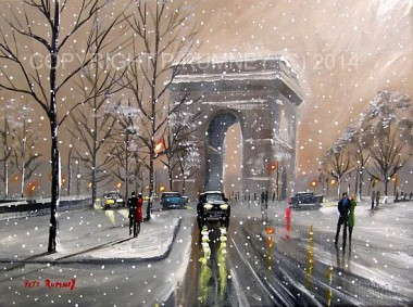 Winter In Paris Together
