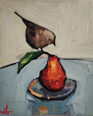 Wren's Orange Pear