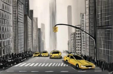 Yellow New York Cabs