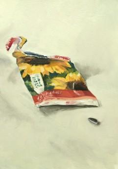Sunflowers, unframed