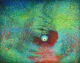 "Love Tunnel * Main photo * 30x24"" inch (1.5"" depth)"